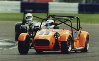 Westfield racing at Silverstone